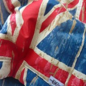 Hondenplaid Union Jack